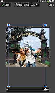 Edit foto selfie di padepokan kanjeng dimas