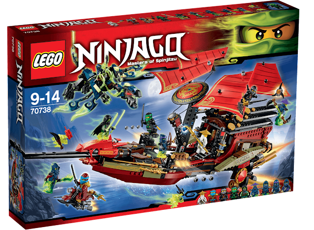 Lego Ninjago Destiny Bounty Fake vs Real