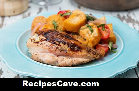 Chicken Breasts With Tomato Panzanella Recipe