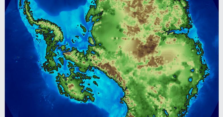 Antarktis Ohne Eis