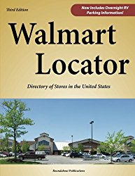 Cover of Walmart Locator print book directory