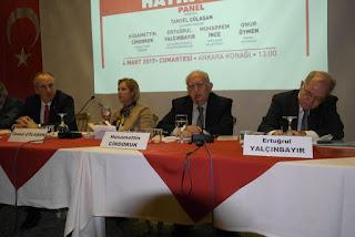 Husamettin Cindoruk'un  Anayasa Panel Konuşması