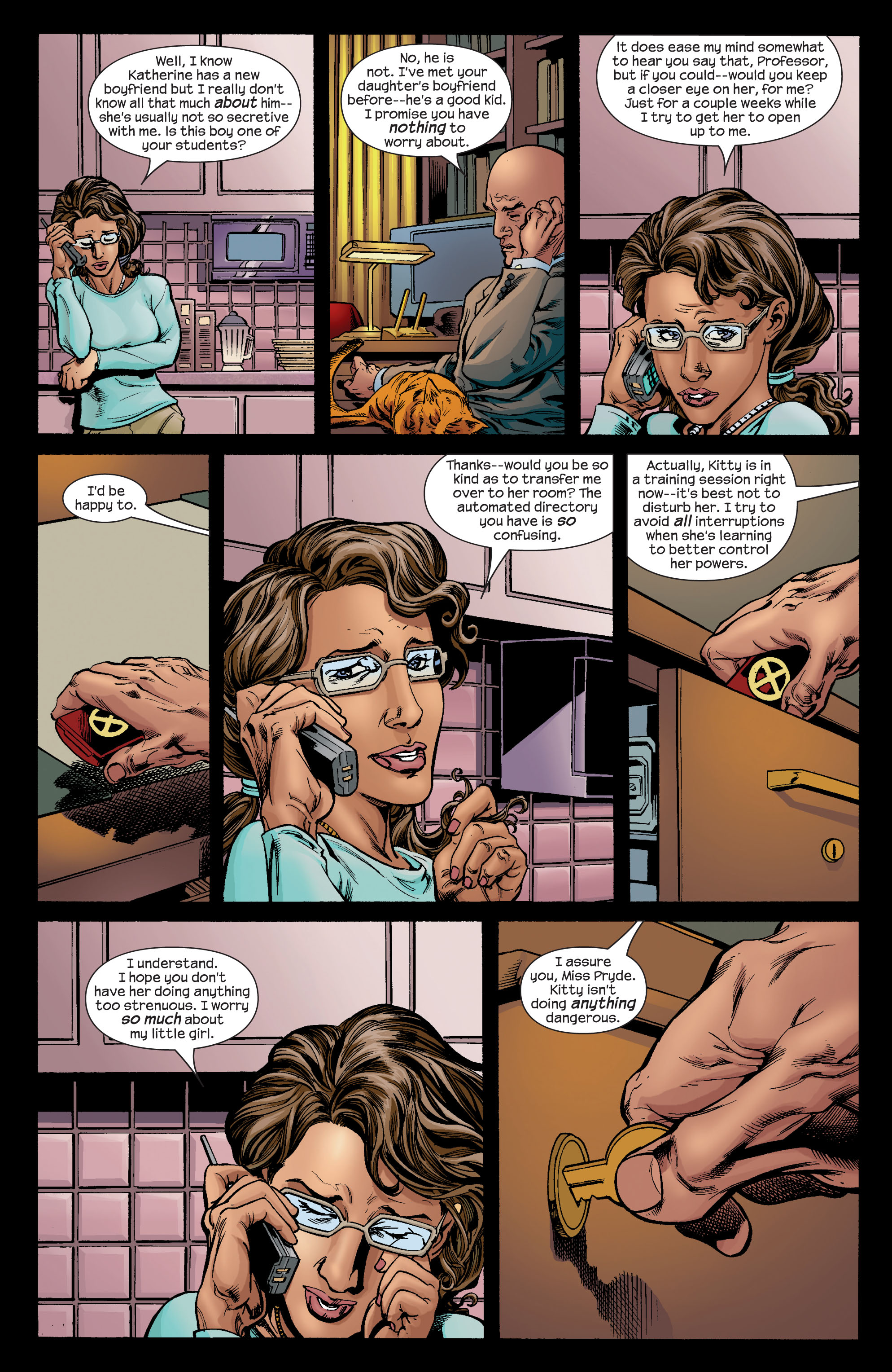 Read online Ultimate X-Men comic -  Issue #72 - 4