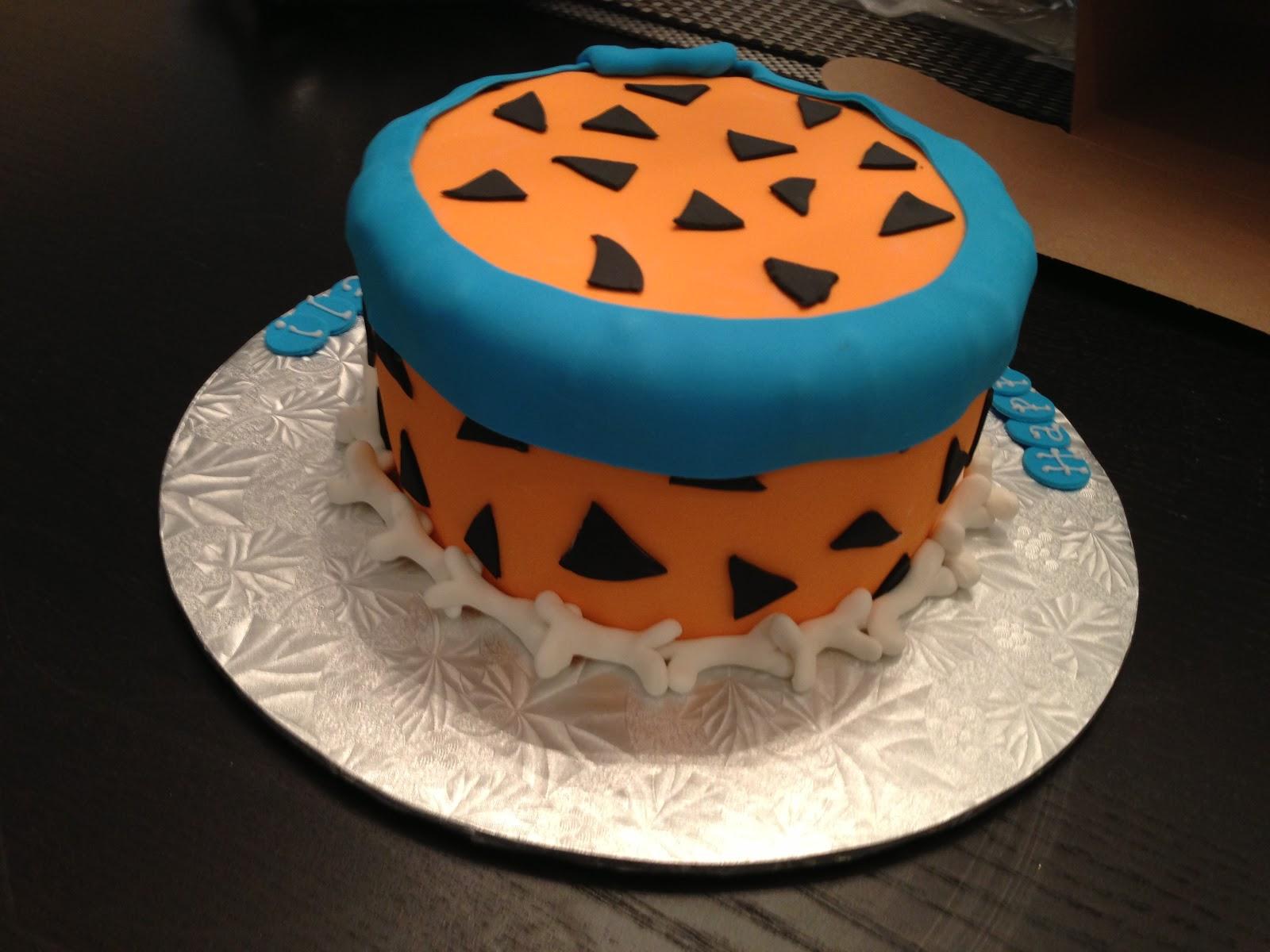 Cakes By Jess Fred Flintstone Cake