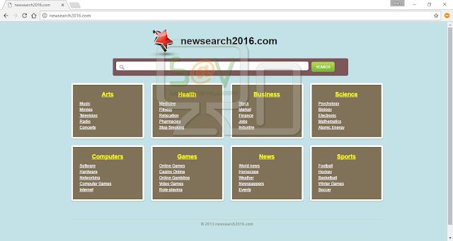 NewSearch2016.com (Hijacker)