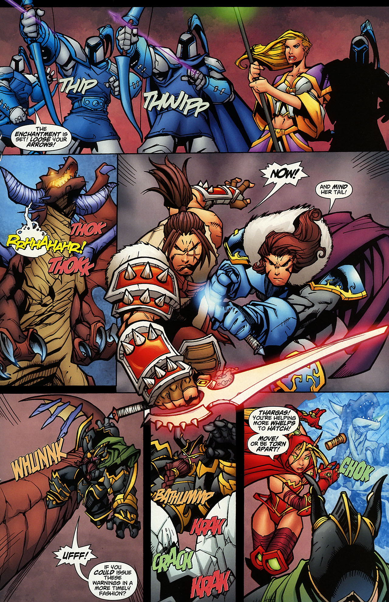 Read online World of Warcraft comic -  Issue #14 - 13