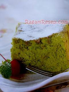 Cake Green Tea Ala Jepang