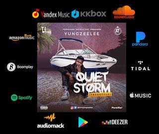 Yung Zeelee - Quiet Storm (Freestyle)
