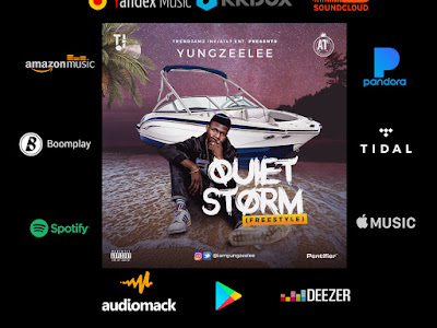 DOWNLOAD MP3: Yung Zeelee - Quiet Storm (Freestyle) || @Iamyungzeelee