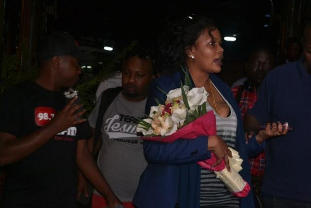 Wema Apokelewa Mapokezi Makubwa Rwanda Afunguka Kilichompeleka Huko