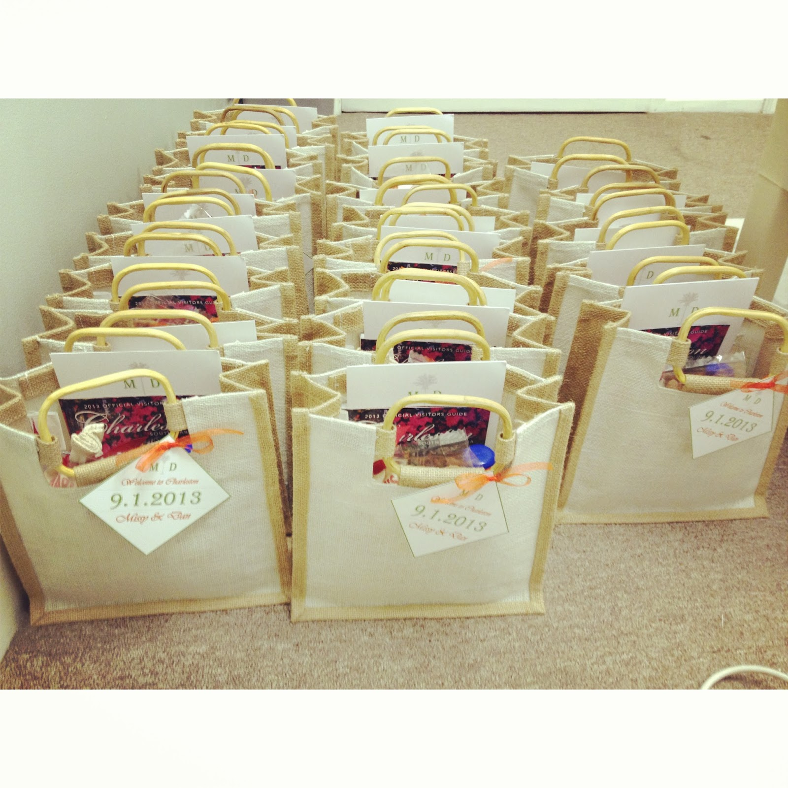 Welcome To Our Wedding Weekend Gift Bags: The How To On Welcome Bags!