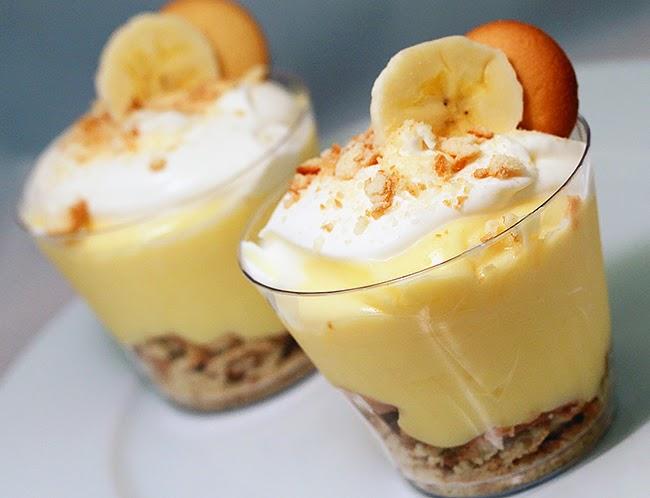 banana pudding cups
