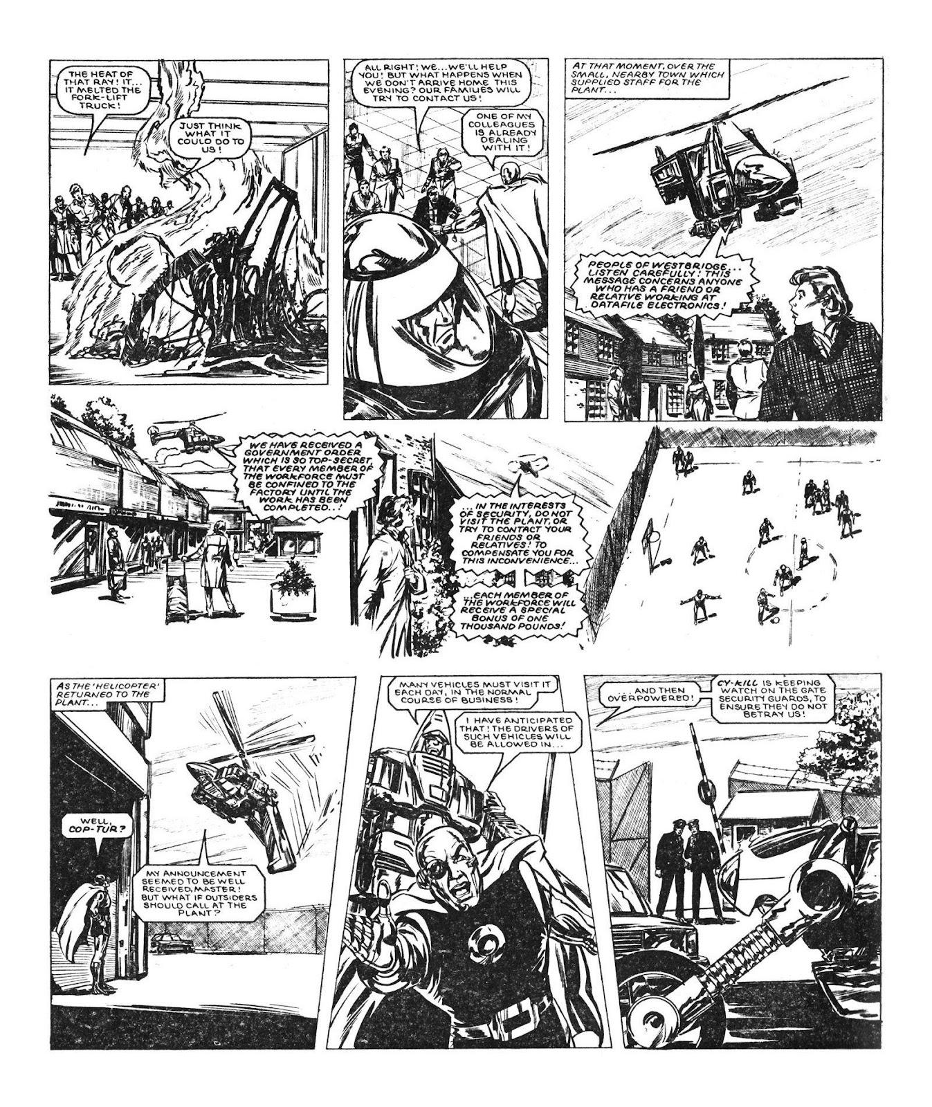 Read online Robo Machines comic -  Issue # TPB - 49