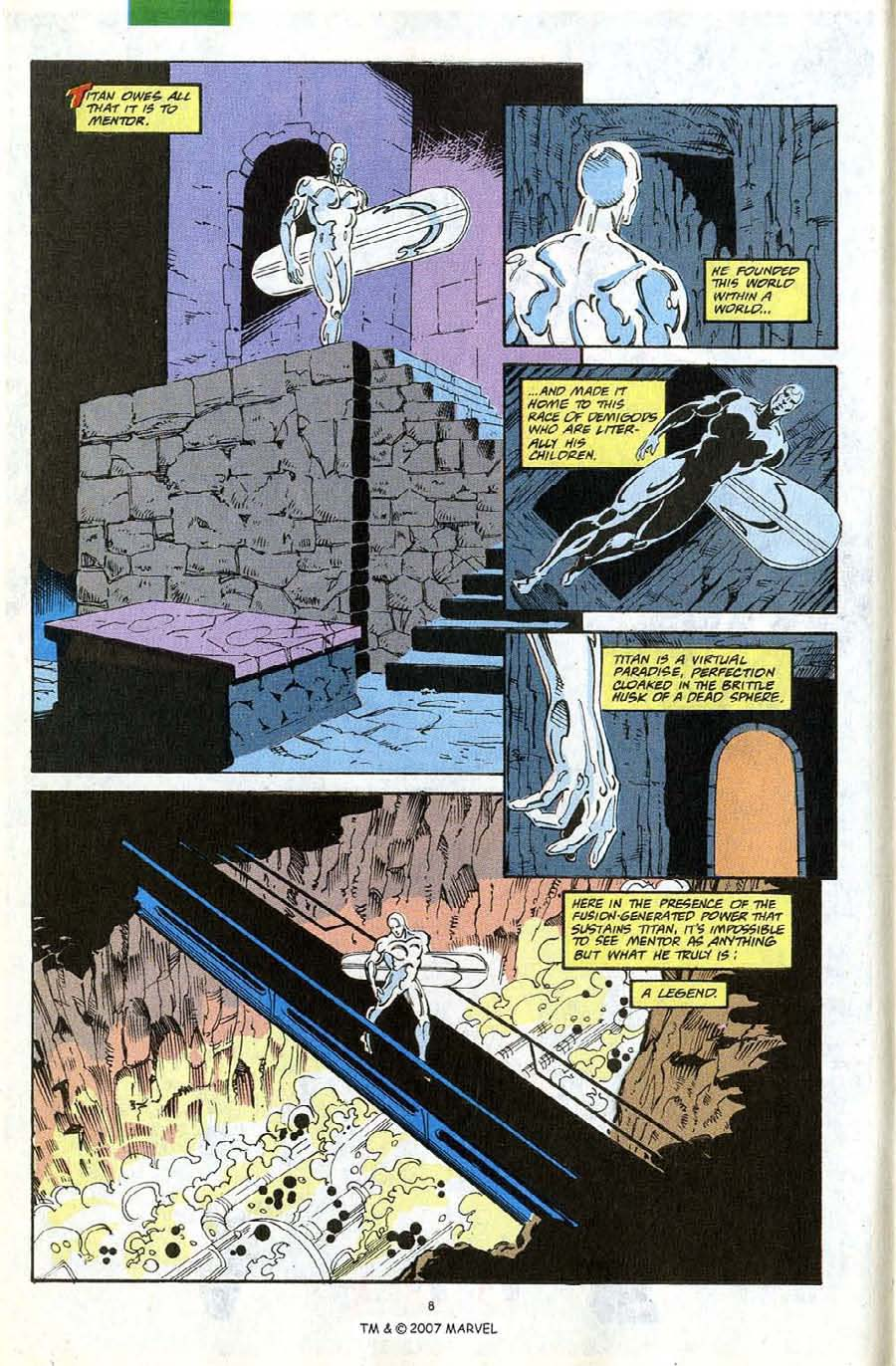 Read online Silver Surfer (1987) comic -  Issue #67 - 10