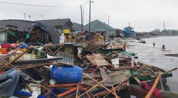 Jumlah Korban Tewas Tsunami Banten-Lampung 229 Orang