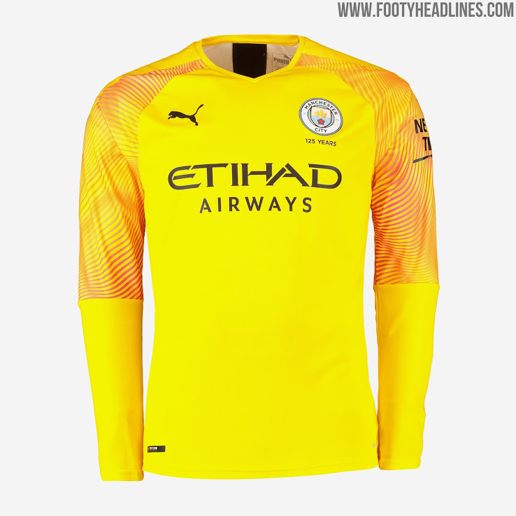brand new 9ecf6 fc7a2 Manchester City 19-20 Goalkeeper Home, Away & Third Kits ...