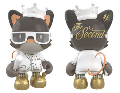 "Kickstarter Exclusive King Janky The Second 3"" Vinyl Figure by Huck Gee x Paul Budnitz x SUPERPLASTIC"