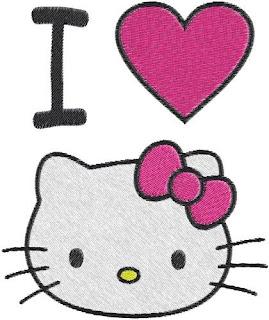 Gambar I Love Hello Kitty 6