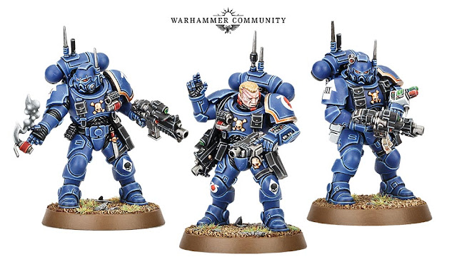 MArines Primaris Infiltrators