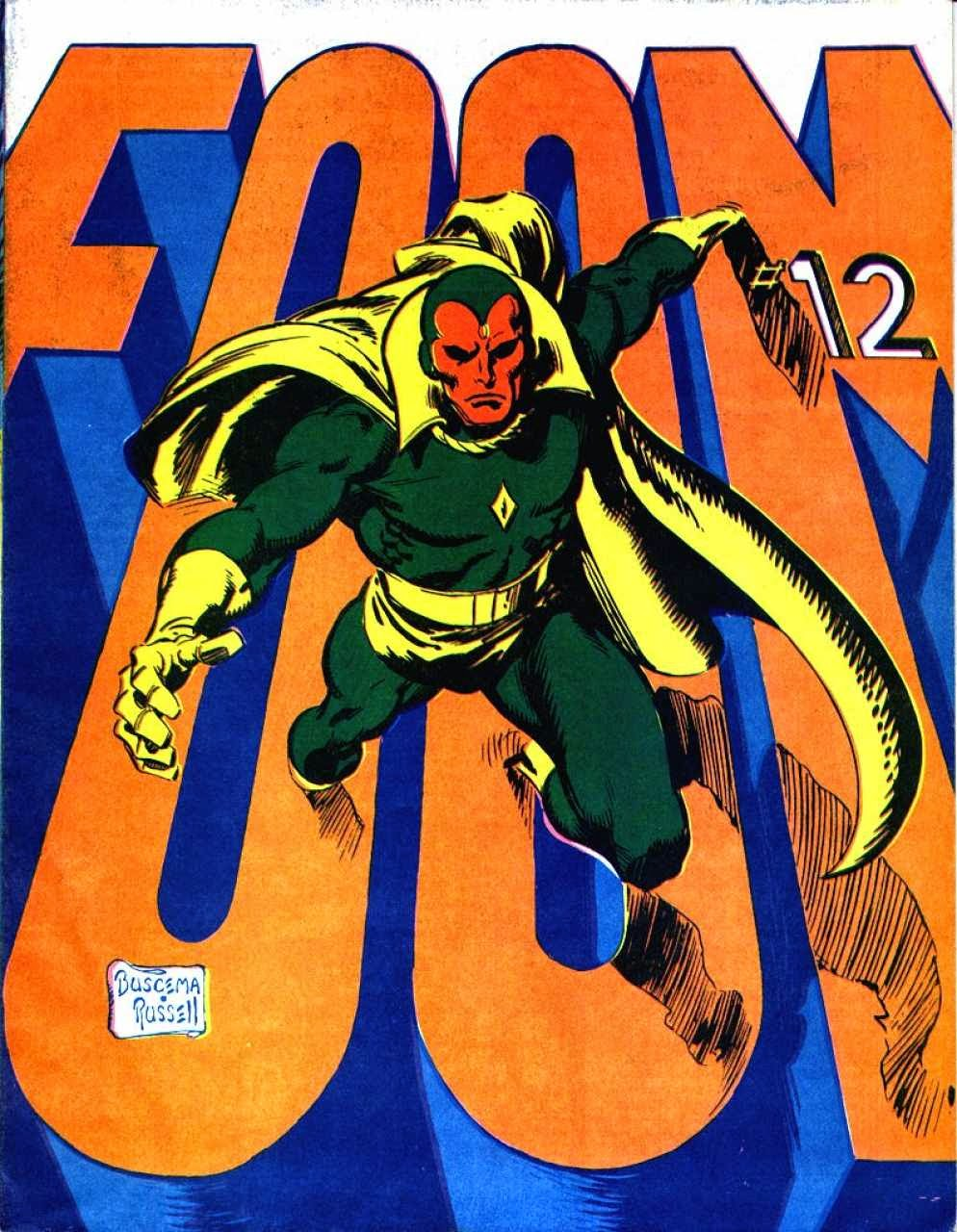 FOOM #12, The Vision