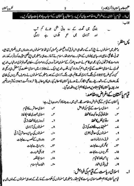Pak Study Mutalia Pakistan