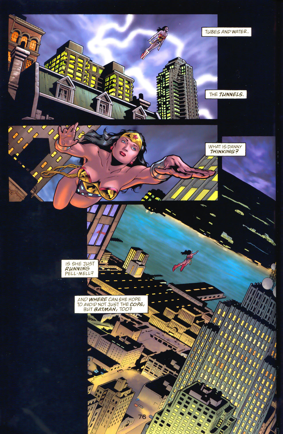 Read online Wonder Woman: The Hiketeia comic -  Issue # Full - 86