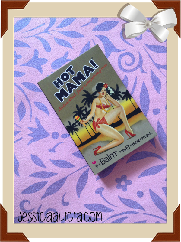 [Review] TheBalm Hot Mama! shadow/blush by Jessica Alicia
