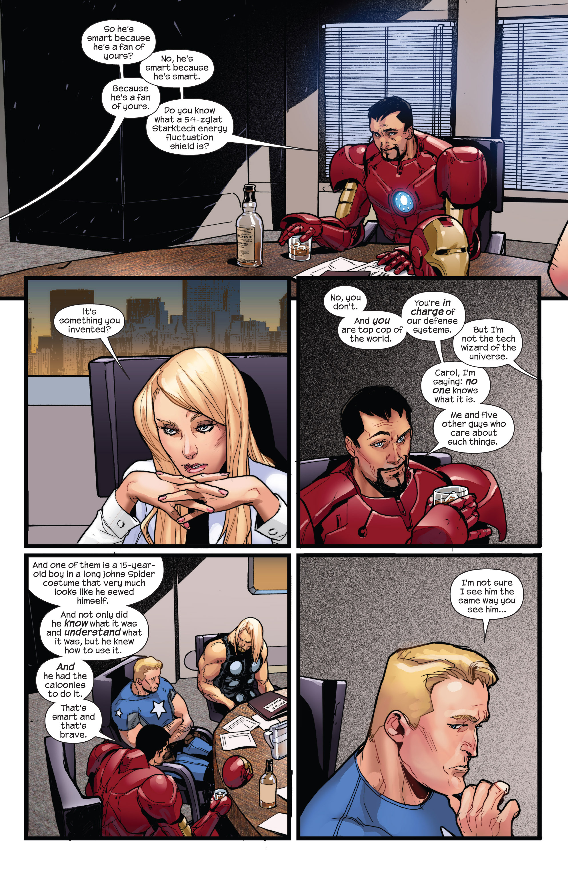 Read online Ultimate Spider-Man (2009) comic -  Issue #150 - 16
