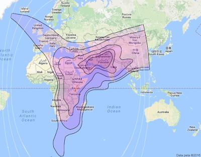 Satelit Paksat 1R 38.0°E CBand