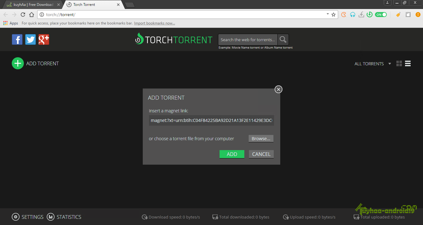 Torch Browser kuyhaa