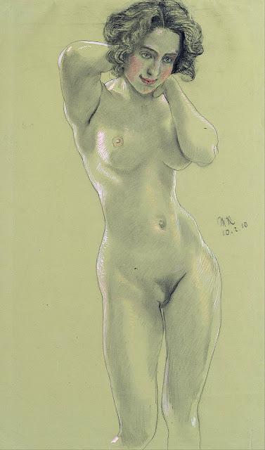 Max Klinger: Nudo femminile