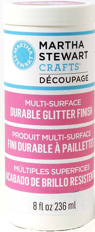 Martha Stewart Decoupage Durable Glitter Finish