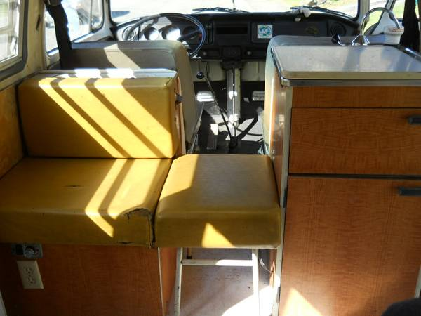 Used RVs 1971 VW Adventure Wagon High Top Camper For Sale ...