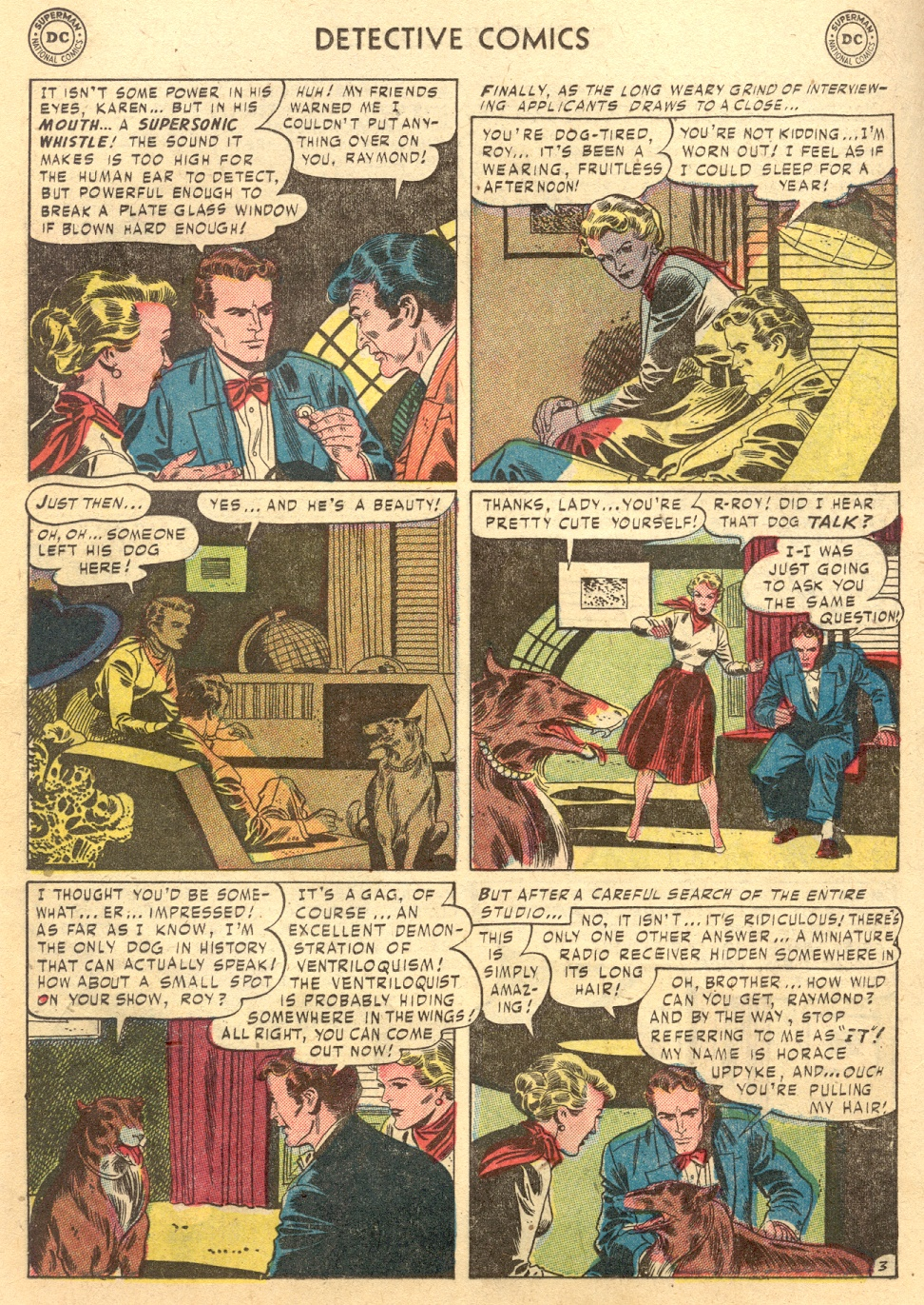 Read online Detective Comics (1937) comic -  Issue #187 - 19