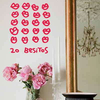 Vinilos decorativos para San Valentín