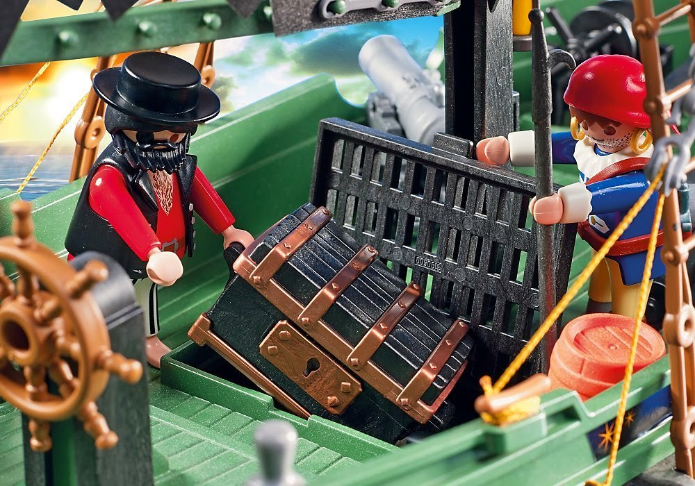 Review Playmobil Remote Control Pirate Ship The Test Pit