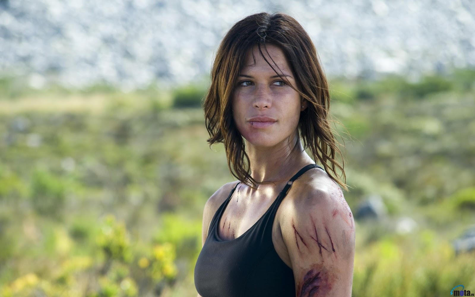 Rhona mitra hollow man Part 6