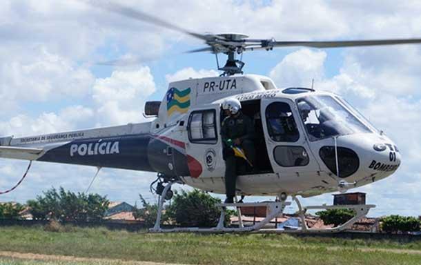 Helicóptero é acionado e salva vida de idoso após grave acidente