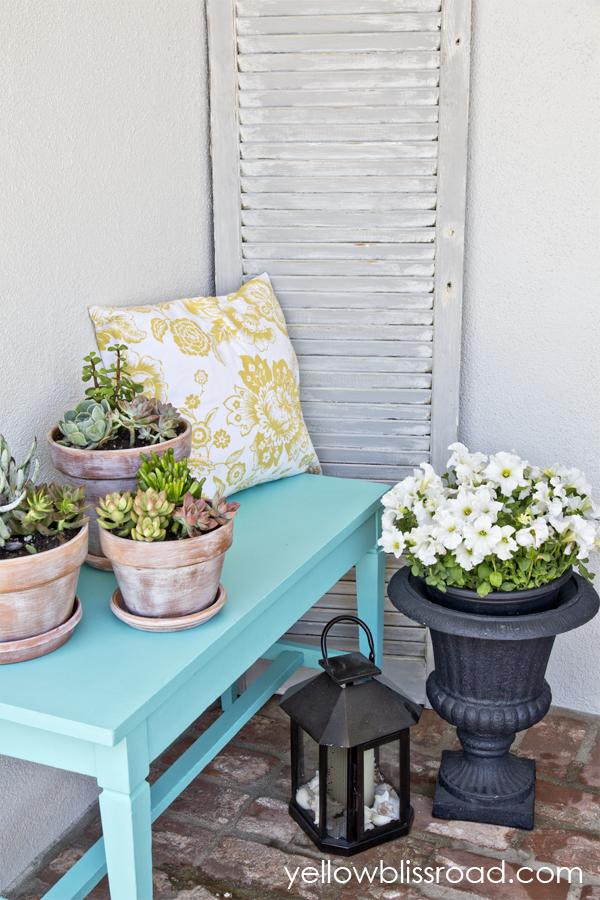 Bright & Cheery Summer Porch