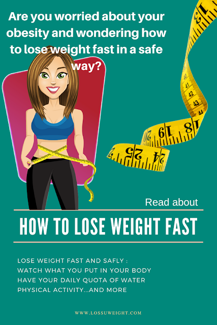 How to lose weight quickly - fast and safly