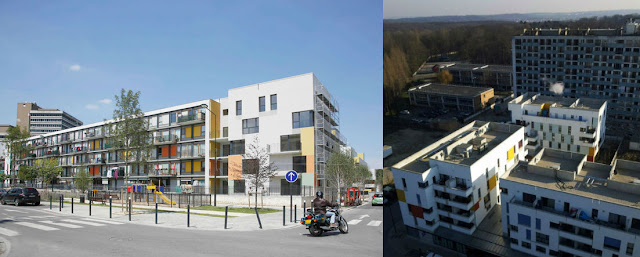 Nuevas viviendas en Clichy-suos.Bois