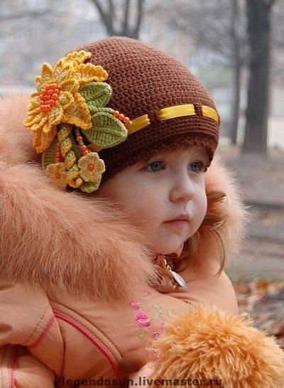 25 Increíbles Ideas: Gorros de Niños Tejidos