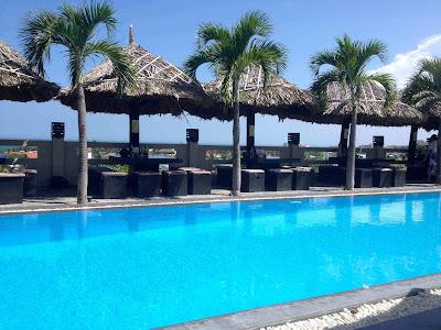 Hotel avec piscine à Mui Ne au Vietnam