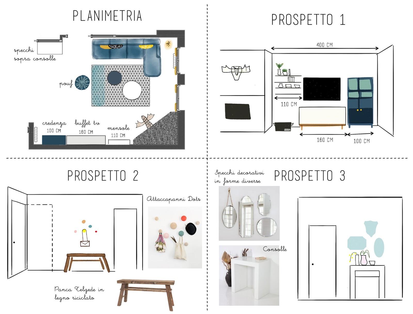 E-design shop: arredare il nuovo soggiorno