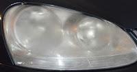 Wonder Lake headlight lens is foggy