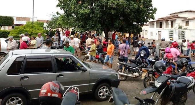 Após assalto a Lotérica em Várzea do Poço, bandidos levam mulher como refém