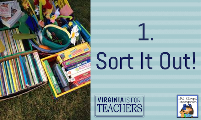 "Wondering what to do with all your extra ""teacher stuff""?  Why not have a Teacher Yard Sale!?"