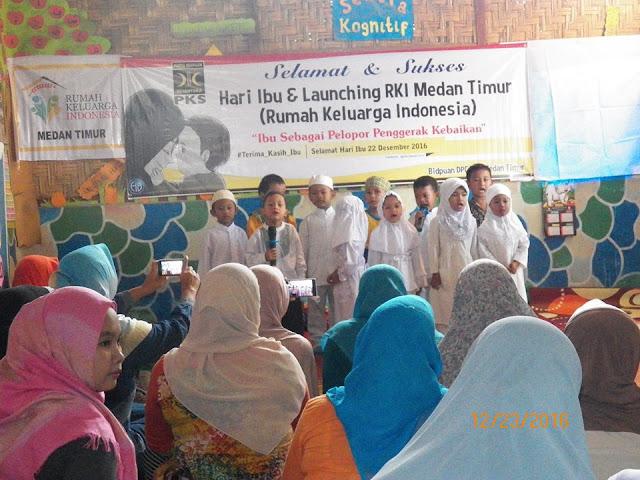 PKS Medan Timur Launching Rumah Keluarga Indonesia