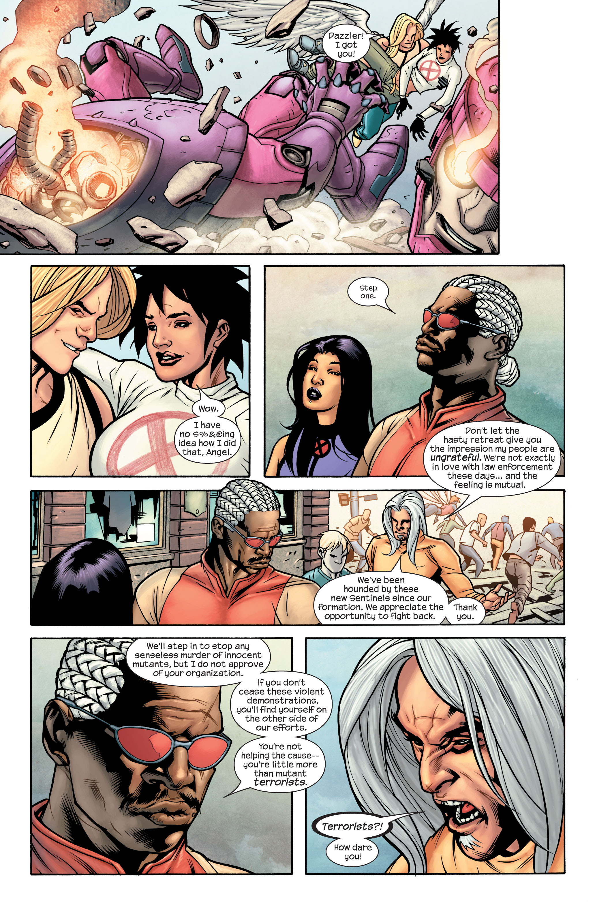 Read online Ultimate X-Men comic -  Issue #85 - 11