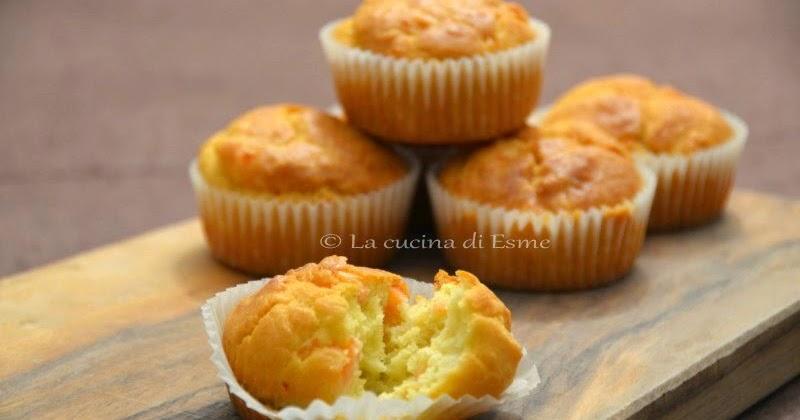 La cucina di esme muffin salati al salmone affumicato con profumo di aneto - La cucina di esme ...